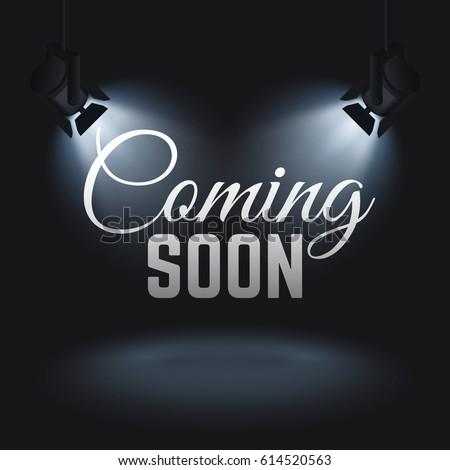 coming soon vector mystery