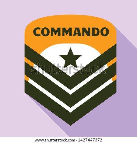 commando air star logo flat