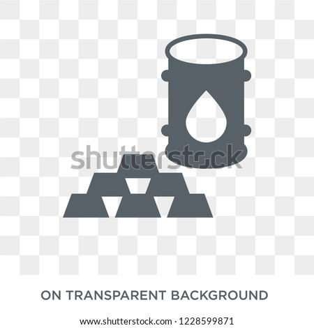 Commodity icon. Commodity design concept from Commodity collection. Simple element vector illustration on transparent background.