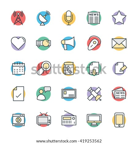 communication cool vector icons