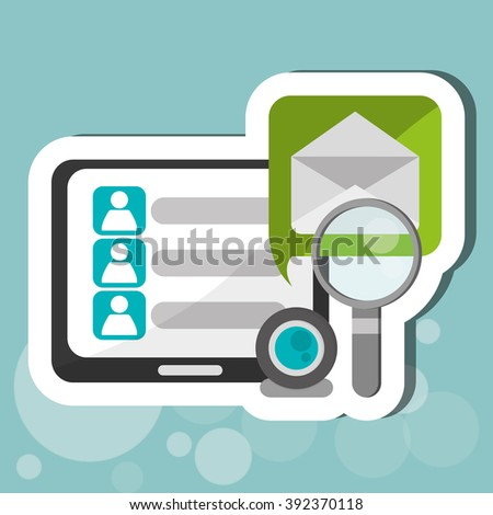 Communication  design , Vector illustration