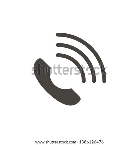 Communication, helpline vector icon. Simple element illustrationCommunication, helpline vector icon. Material concept vector illustration.