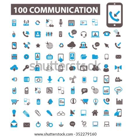Shutterstock Communication icons