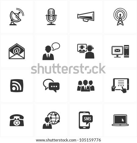 Communication Icons - Set 1