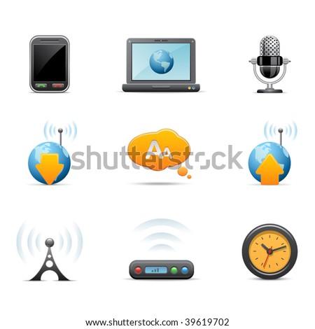 Communication icons, set # 2