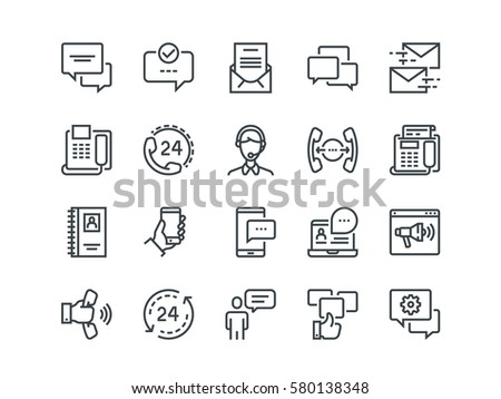 Chat Icon Symbol Sign Download Free Vector Art Stock