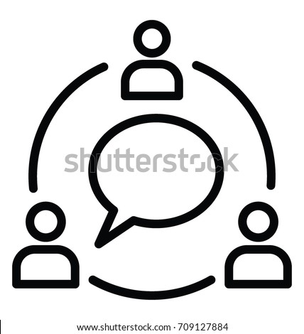 Communication Vector Icon