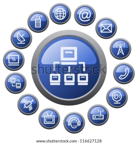 Communications button set