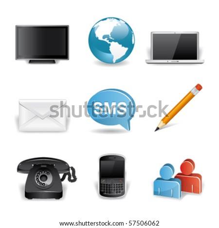 communications premium icons