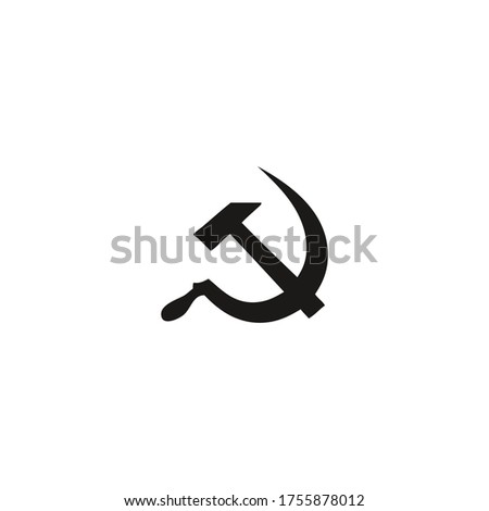 communism icon vector on a