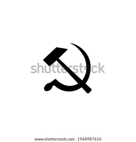 communism sign  hammer and