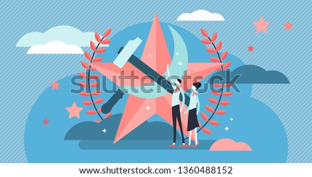 communism vector illustration