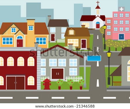 Community - stock vector