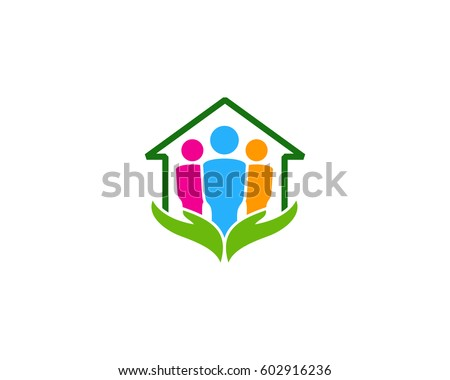 Community Care Logo Design Element