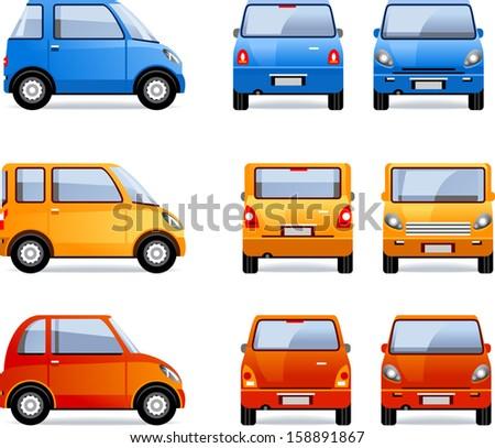 compact car  set  64  pixel