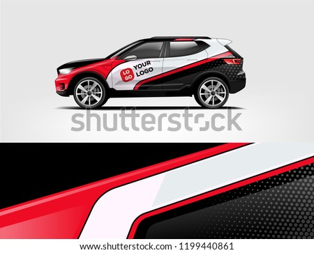 company branding car decal wrap