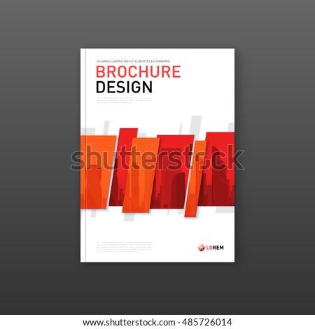 company brochure cover design