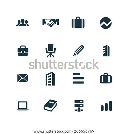 company Icons Vector set