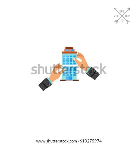 Company Merger Concept Icon