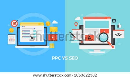 comparison between ppc and seo  ...