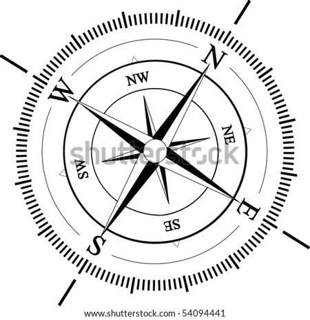Compass - stock vector