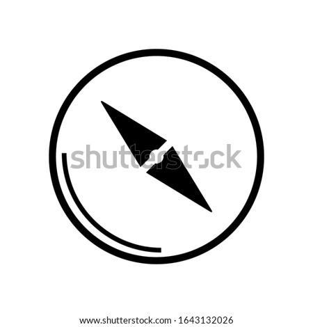 compass icon design vector template