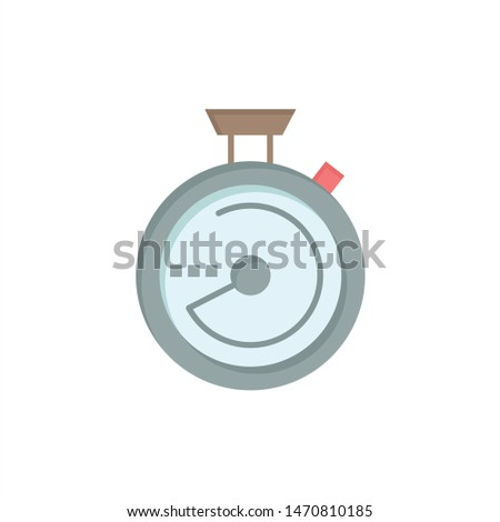 Compass, Navigation, Location  Flat Color Icon. Vector icon banner Template. Vector Icon Template background
