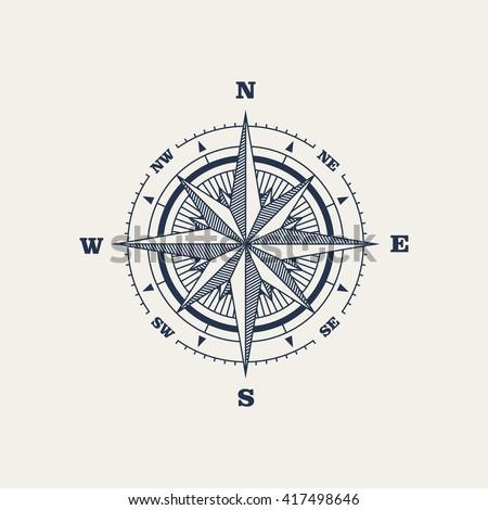 Compass / Vector illustration