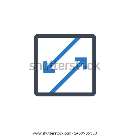 Competing Interests related vector glyph icon. Isolated on white background. Vector illustration.