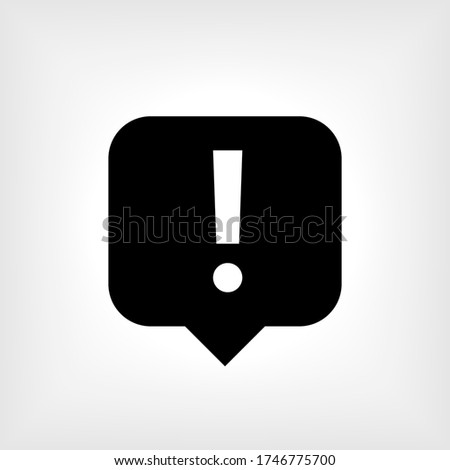 Complaint Icon - Vector Illustration for Design and Websites, Presentation or Application. Photo stock ©