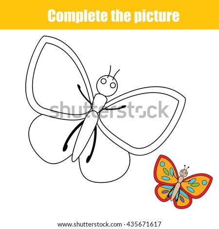 complete the picture children