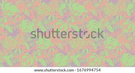 complex tropical foliage