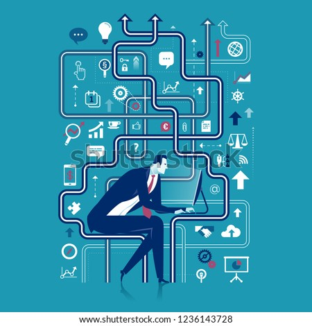 Complexity, business concept vector illustration ストックフォト ©