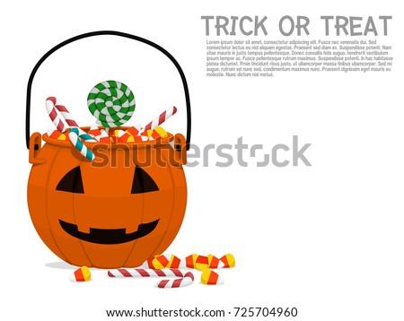 composition of pumpkin basket on transparent background for halloween celebration