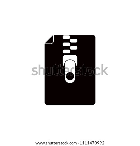 compressed file icon. Element of education icon for mobile concept and web apps. Detailed compressed file icon can be used for web and mobile. Premium icon on white background