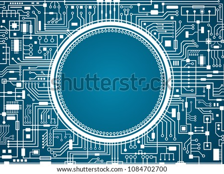 computer circuit board with
