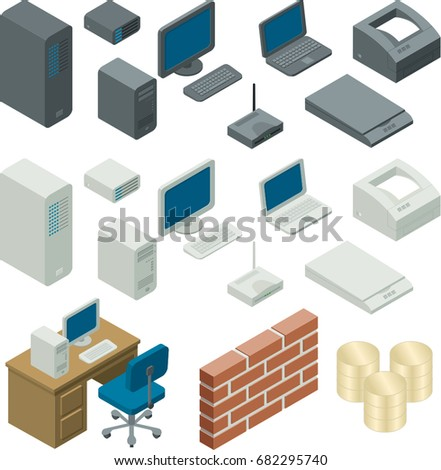 Computer Components, Peripherals and Networks