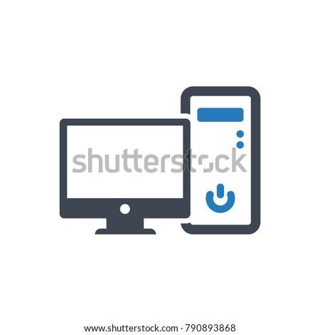 Computer Desktop Icon