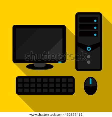 computer icon  computer icon