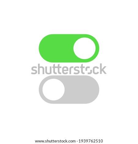computer icon power conrol switch Stock photo ©
