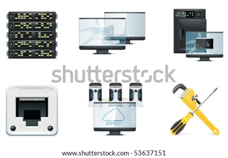 Computer icon set. Part 2