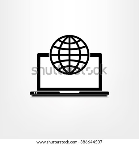 Computer icon vector illustration eps10.