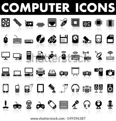 computer icons  hardware