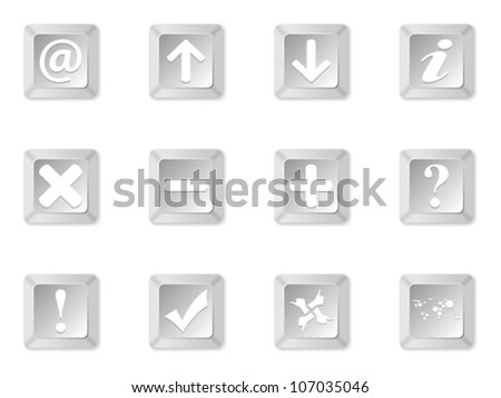 computer keyboard buttons