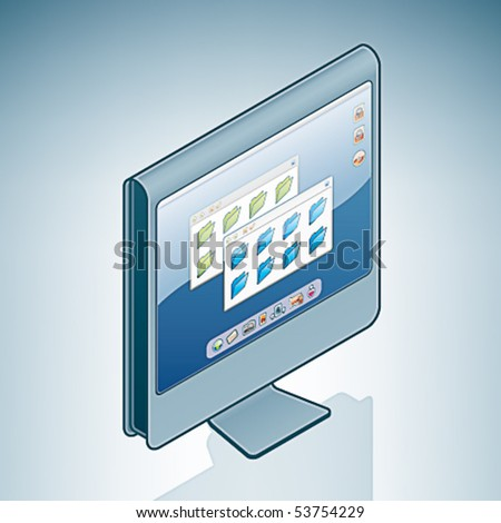 Computer LCD Screen