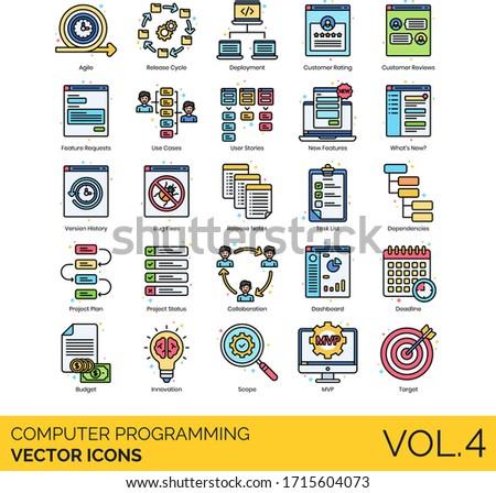 computer programming icons