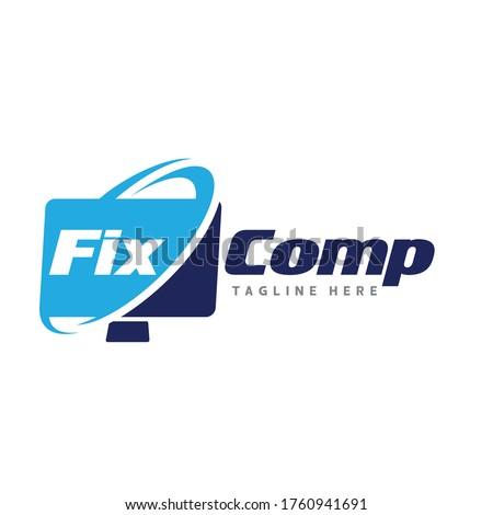 computer repair logo computer
