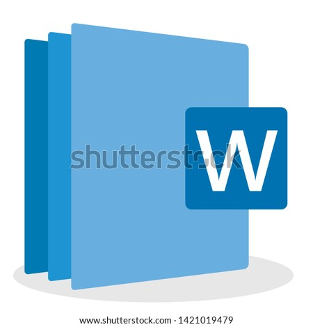 computer software file icon. vector illustration