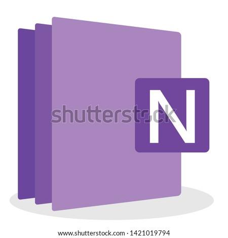 computer software file icon. vector illustration