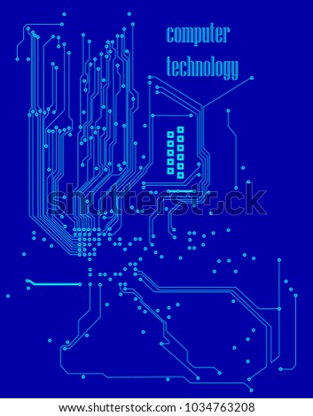 computer technology microchip